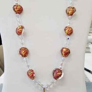 Murano hearts