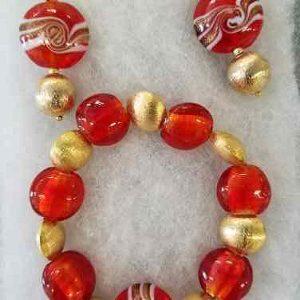 Red Gold Murano