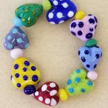 SBO Hearts bracelet 7i 75