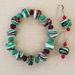 SBO Christmas bracelet set