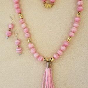 pink Rhodocrosite set