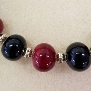 524s Red Black Beads cup