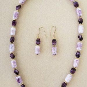 purple amethyst 19 in $90