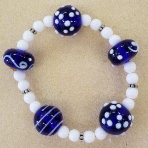 569b Murano blue.white