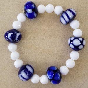SBO186 Blue white brac