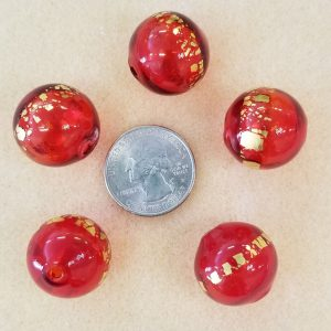 2030 Hollow Glass Red