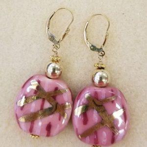 915e Kazuri Pink Gold