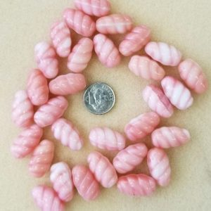 2115 pink glass swirl