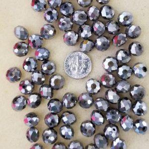 2243 med facet silver