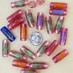 2312 N Zeland deco glass tubes
