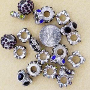 2414 assort lg hole rings