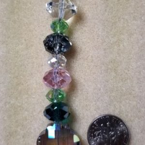 033 Crystals suncatcher ornament