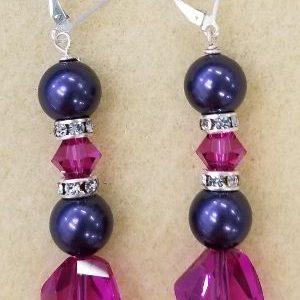 1012 purple pearl Swarov