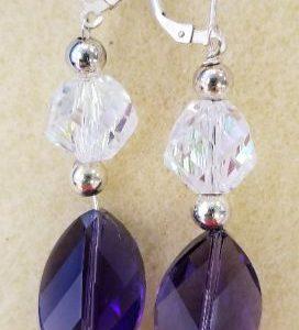 1013e purple glass w Swarov