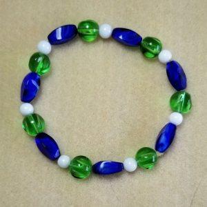 1103 blue green bracelet