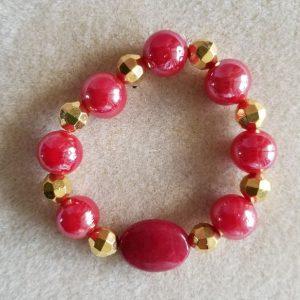 11007 red bracelet